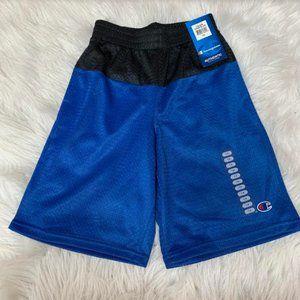 NWT Champion Boys' Team Blue Active Mesh Shorts